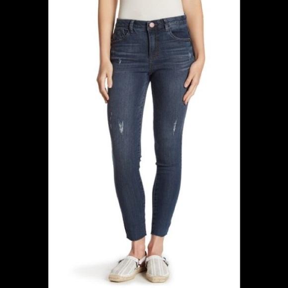 Democracy Denim - Democracy High Rise Distressd Skinny Jeans Sz6 NWT